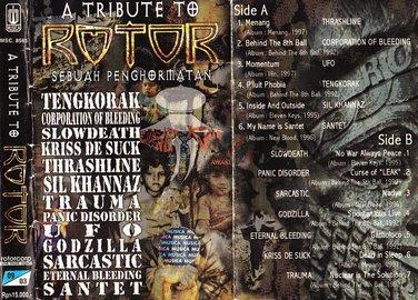 saya juga masih nyimpan album Tribute To Rotor dalam bentuk kaset