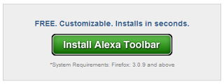 Tombol Install Alexa Toolbar
