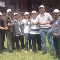 Foto bareng dengan Team TSDP @ Cipaku Bandung