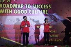Pada Saat menjadi Ketua Triputra Imrpvoement Forum @Balai sudirman Jakarta