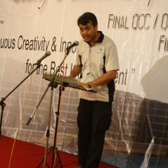 In Action - pada saat menjadi ketua Padang Karunia Improvement Forum