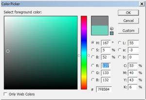 mengetahui warna dengan kode