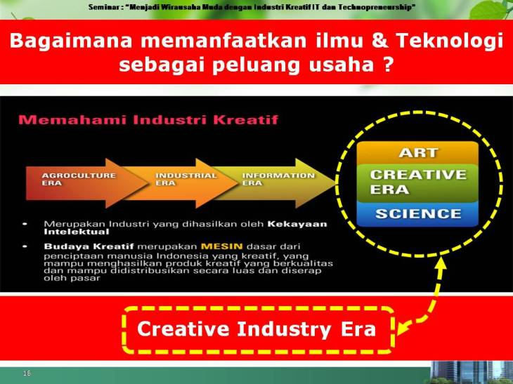 era industri kreatif