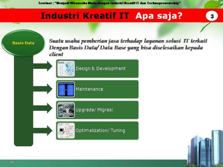 slide pekerjaan industri kreatif IT 3