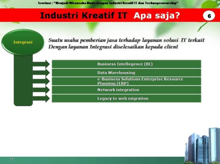 slide pekerjaan industri kreatif IT 6