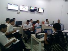 Pada saat pemaparan hasil IT Audit dengan team IT Department RS. Pelni Jakarta