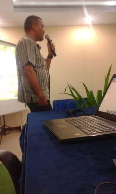 Pada saat Pemaparan Aplikasi SIKALEM pada Pemda Kota Tangerang Selatan, April 2016