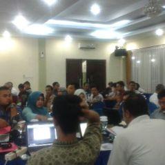 Para Peserta Sosialisasi Aplikasi SIKALEM dari perwakilan Keluarahan di Kota Tangerang Selatan